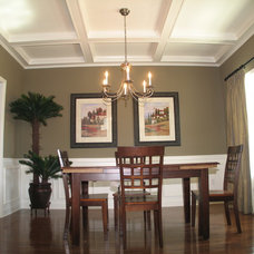 Traditional Dining Room by Metzler Home Builders