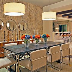 contemporary dining room by Est Est, Inc.