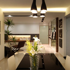 Modern Dining Room by Max T