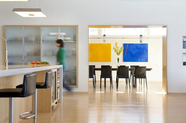Modern Dining Room by ZeroEnergy Design