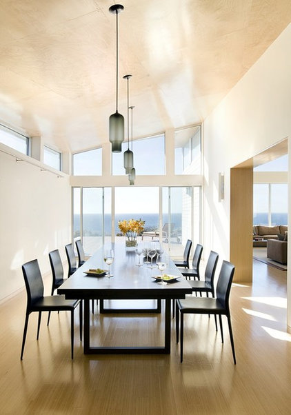 Modern Dining Room by ZeroEnergy Design