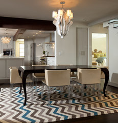 contemporary dining room by Jennifer Welch Designs