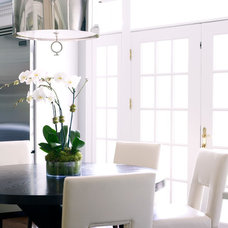 Modern Dining Room by Susan Glick Interiors