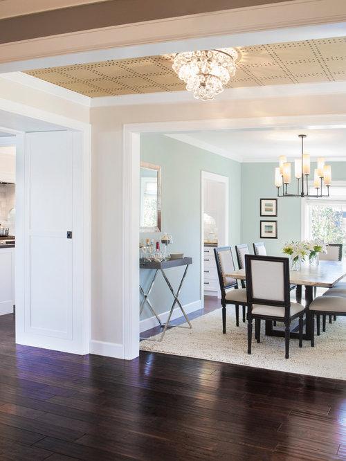 Light Blue Dining Room Houzz