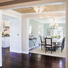 Transitional Dining Room by About:Space, LLC