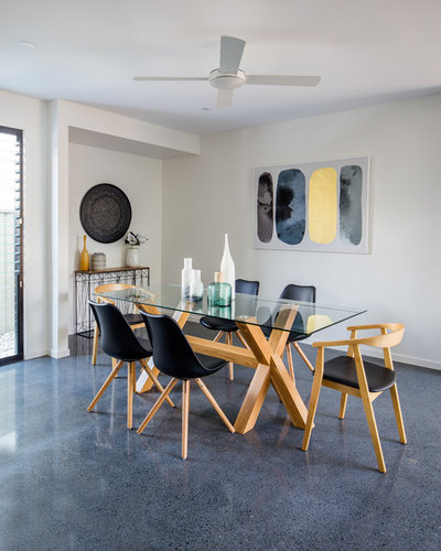 Beach Style Dining Room by Tailored Space Interiors - Interior Design