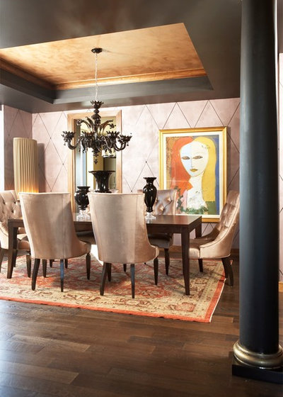 Modern Dining Room by CIH Design