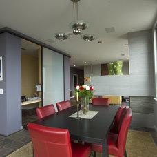 Modern Dining Room by Braitman Design Studio