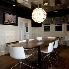 contemporary dining room by Beth Dotolo, RID, ASID