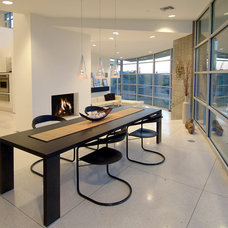 Contemporary Dining Room by Soloway Designs Inc.