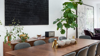 Modern Dining Area with Mid-Century Style - Brooklyn, NY