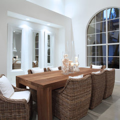 modern dining room by Brown's Interior Design
