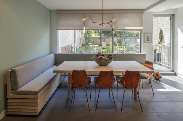 Modern Dining Room by mercer INTERIOR