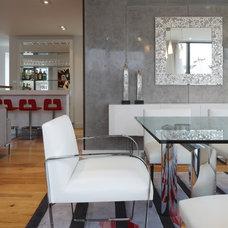 Modern Dining Room by Adrienne Chinn Design