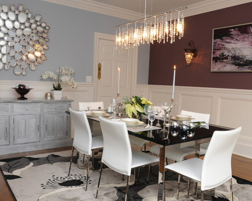 Blue Grey Dining Rooms
