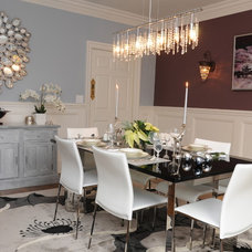 Modern Dining Room by ak style home staging and redesign