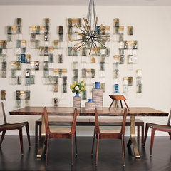 modern dining room by Amy Lau Design