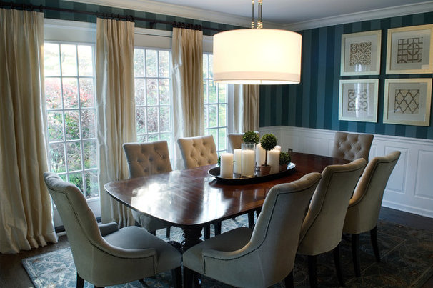 Modern Dining Room by Barrickman Design Group