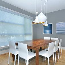 Modern Dining Room by Bruce Johnson & Associates Interior Design