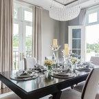 Del Mar Floor Plan Kcmo Transitional Dining Room