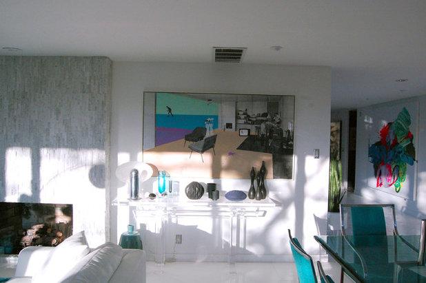Contemporary Dining Room by Dana Nichols