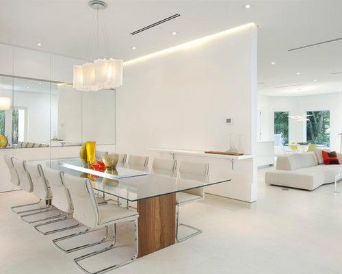 Sala da pranzo moderna Miami - Foto, Idee, Arredamento