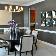 Modern Dining Room by Domain Design