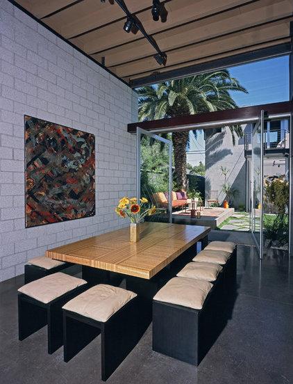 Industrial Dining Room Modern Dining Room