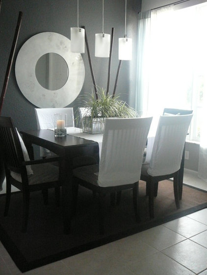 modern dining room by FOCAL POINT STYLING