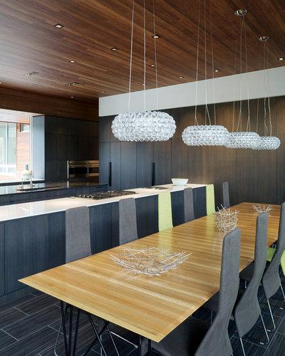 Moderne Salle à Manger by Hufft