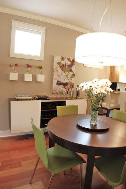 Modern Dining Room by Judith Balis Interiors