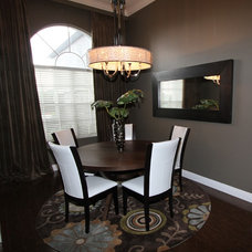 Modern Dining Room by Morrone Interiors