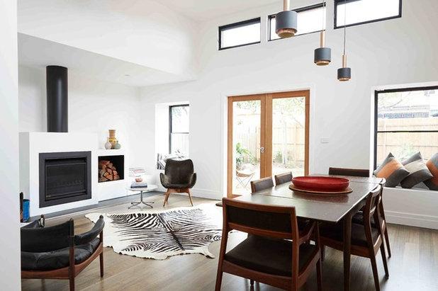 Houzz tips: sådan arrangerer du møbler omkring dit tæppe