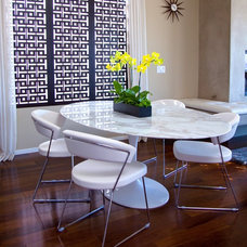 Contemporary Dining Room by Natalie Younger Interior Design, Allied ASID
