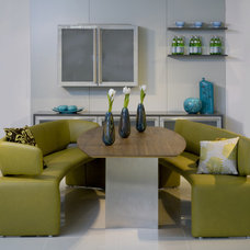 modern dining room by Optimise Design