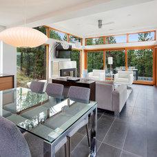 Modern Dining Room by Balance Associates Architects