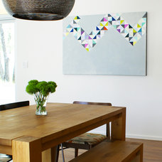 Modern Dining Room by Sara Cukerbaum
