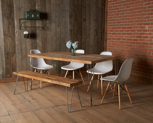 SaveEmail. Modern Dining Room - Modern Reclaimed Wood Furniture Houzz