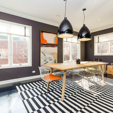 Contemporary Dining Room by Jessica Turf Design