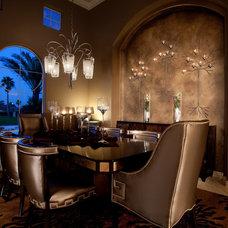Contemporary Dining Room by Eklektik Interiors