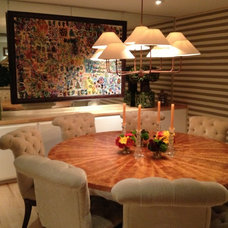 Modern Dining Room by Frog Hill Designs LLC