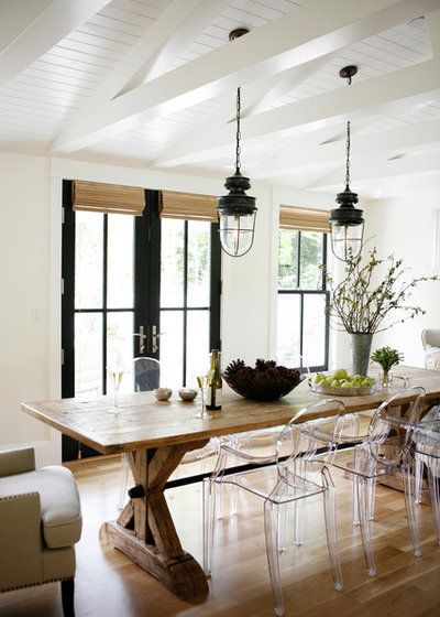 Farmhouse Dining Room By H2 Design + Build