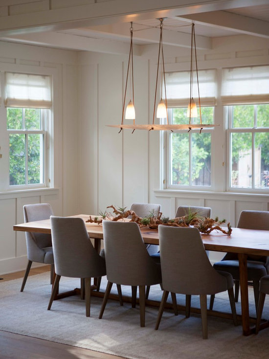 Board And Batten Dining Room Houzz - Board and batten dining room