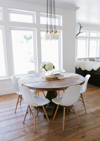 Farmhouse Dining Room by House of Jade Interiors