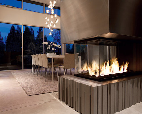 Contemporary Fireplace Home Design Ideas, Pictures, Remodel and Decor