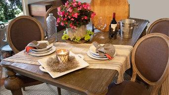 Modern French Country Dining