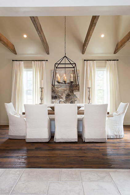 Traditional Dining Room by Bay Hill Design