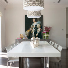Contemporary Dining Room by Massimo Interiors