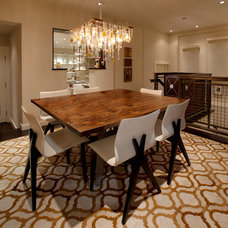 Contemporary Dining Room by FEATHER & GILL ARCHITECTS