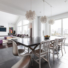 Contemporary Dining Room by Becki Peckham